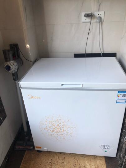 美的(Midea)203升 家用冰柜 冷藏冷冻转换冷柜 节能省电卧式冰箱(白色) BD/BC-203KM(E) 晒单图