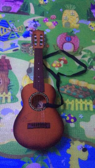 六美(LIUMEI) 尤克里里初学者乌克丽丽乐器 六弦真丝68cm仿黄花梨(送教程+背带) 晒单图
