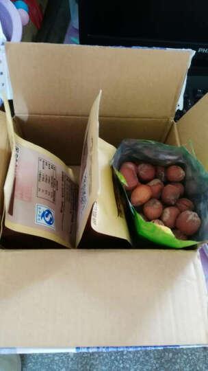 森林松鼠 【榛子205g×1袋】东北特产开口榛子 坚果炒货 休闲小吃零食 晒单图