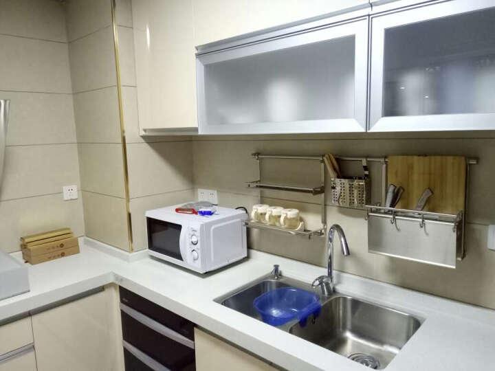 维艾央(WEIAIYANG)厨房置物架壁挂304不锈钢收纳刀架碗碟架调料架筷子筒锅盖架砧板架 碗碟架 晒单图