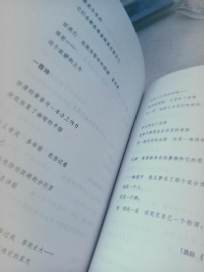 中国现代诗歌精选·鸢尾卷 晒单图