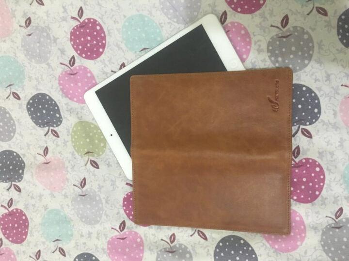 超薄钱包男长款薄款个性手机包商务休闲手包青年软皮男士卡包真皮 深蓝 晒单图