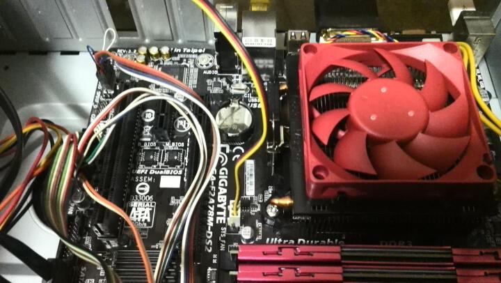 技嘉(GIGABYTE) F2A78M-DS2主板 (AMD A78/Socket FM2+) 晒单图