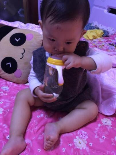 恩诺童 美豆婴儿奶瓶 进口PPSU带手柄吸管奶瓶宽口径奶嘴防胀气母婴储奶瓶宝宝防摔 L奶嘴(美豆奶瓶专用) 晒单图