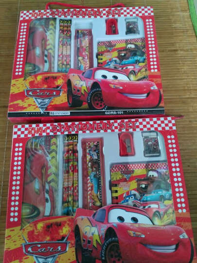 文具礼盒套装 儿童学生奖品创意文具学习用品 手提大礼盒7件套芭比 晒单图