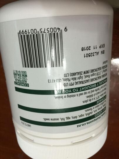 【新西兰进口】Thompson's大豆卵磷脂胶囊血管清道夫防动脉硬化 晒单图