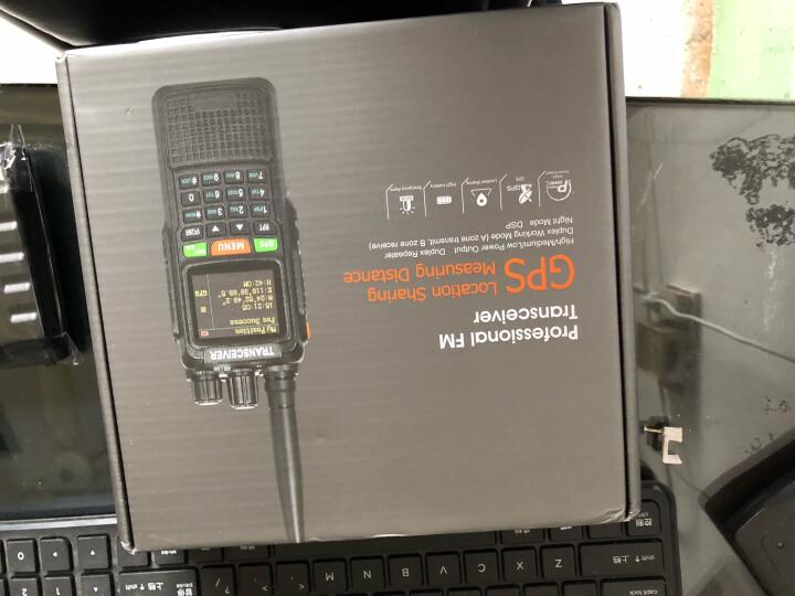 ZASTONE即时通889G  对讲器10W大功率GPS定位中继手台民用UV双段户外自驾游手持对讲机 黑色 晒单图