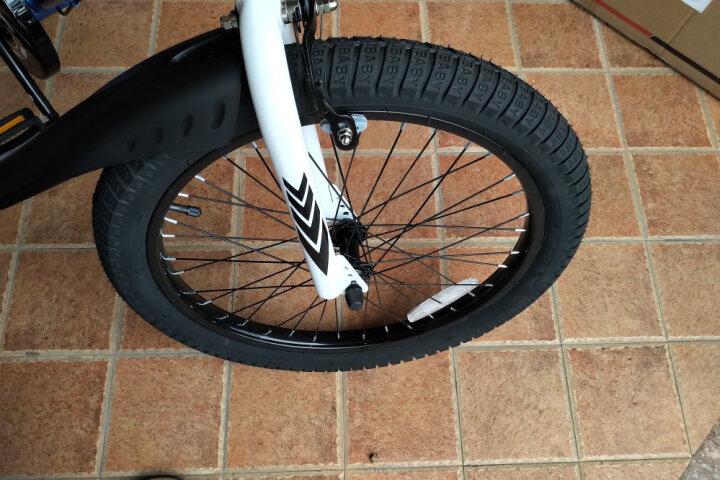 优贝(RoyalBaby) 儿童自行车14寸16寸12/20/18寸男女童表演车单车 粉色 14寸 晒单图