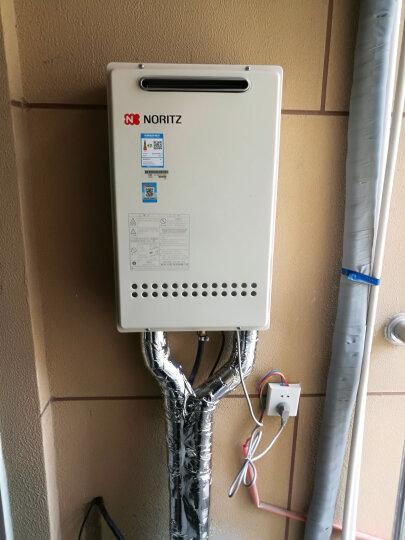 能率(NORITZ) 16升室外机(天然气)智能恒温 燃气热水器 GQ-1640W 晒单图