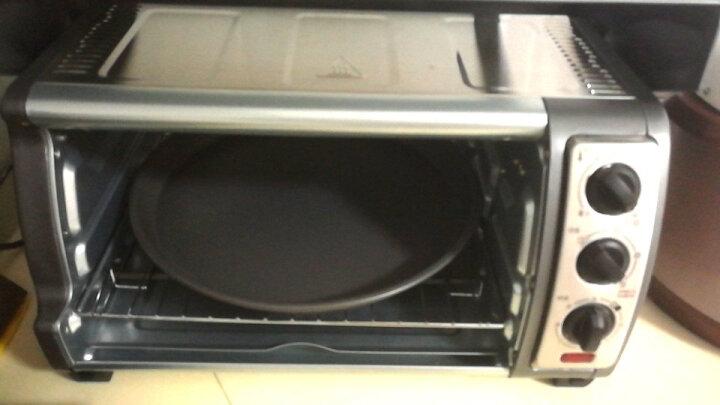 爱享佳(ienjoy +) 烘焙工具 不沾披萨烤盘 6寸8寸9寸 圆形浅匹萨盘 烤箱配件 15.5寸 231018 晒单图