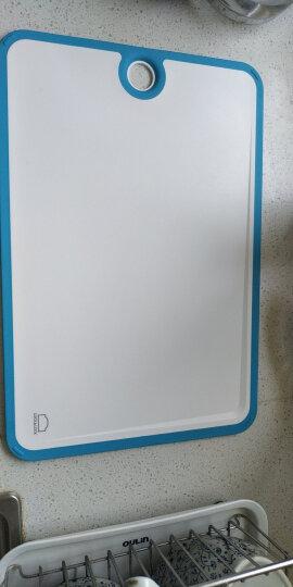 乐扣乐扣(lock&lock)砧板 抗菌菜板 拎环型蓝色(中) CSC501 晒单图
