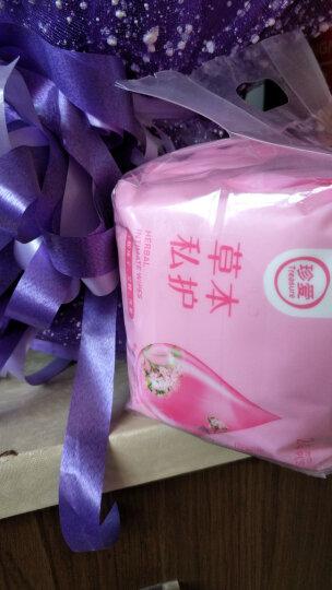 珍爱 洁阴卫生湿巾成人男女房事私处护理清洁草本湿纸巾24片*4包CB51 晒单图