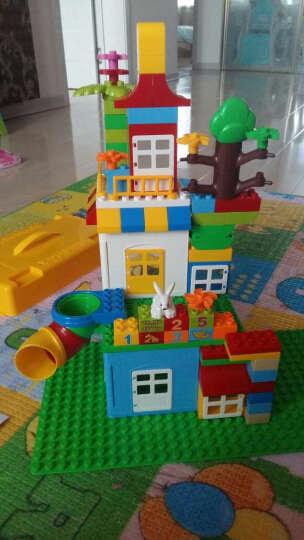 惠美(HUI MEI)大颗粒积木拼装拼插组装积木儿童玩具启蒙教育积木3-6-9周岁买一送三 360颗粒+摩天轮HM185盒装+188桶装 晒单图