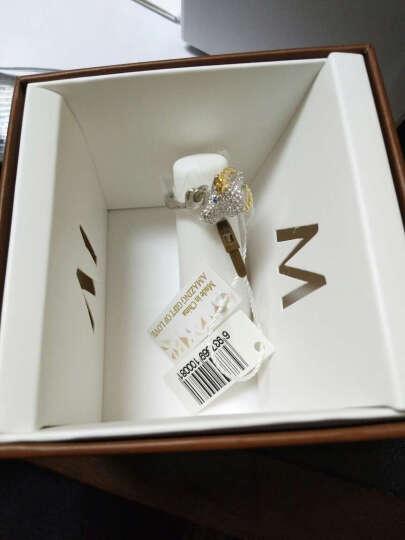 MyMiss 十二生肖戒指 女食指开口 925银镀铂金指环 情人节礼物 情侣送礼 银饰品 牛 晒单图