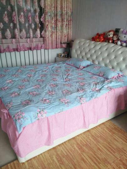 萱之悦 全棉床罩四件套 床上用品家纺公主床裙式 床罩式 床罩四件套-韩国丽人 1.8米床(适合200*230的被子) 晒单图