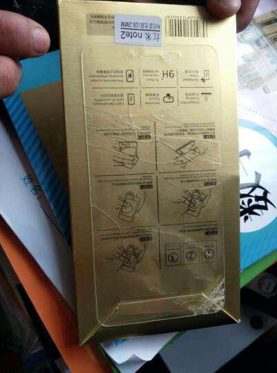 倪尔克 红米note2钢化膜/手机贴膜/玻璃保护膜 适用于红米note2/增强版4G电信版 【炫紫】护眼版-抗蓝光钢化膜 晒单图
