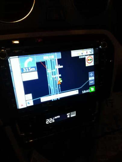 卡仕达导航仪车载安卓电容大屏智能车机GPS北斗双模卫星汽导航仪倒车影像电子狗测速一体机 途观专用导航 原厂标准配件+高清夜视倒车+行车记录仪16G 晒单图