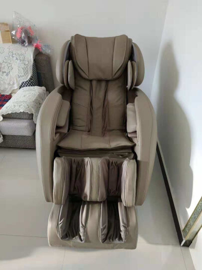 荣泰(ROTAI)按摩椅RT6038 智爱椅电动按摩椅全身按摩 按摩沙发 浅灰色 晒单图