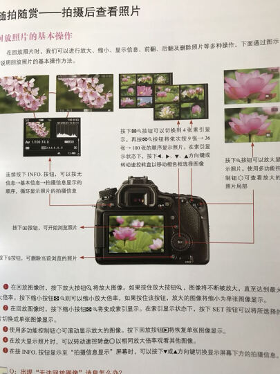 Canon EOS 80D数码单反摄影技巧大全佳能摄影教程技巧书籍摄影入门新手到精通相机书 晒单图