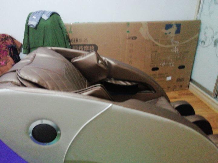 【明星推荐】佳仁(JARE)德国品牌按摩椅家用太空舱零重力全身按摩椅电动按摩沙发 豪华款【头部气囊+足底滚轮+蓝牙音乐】 晒单图