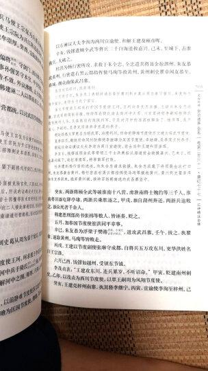 资治通鉴(套装全二十册 文白对照 汇评 精注 全译)(随书赠送书画笔记本) 晒单图