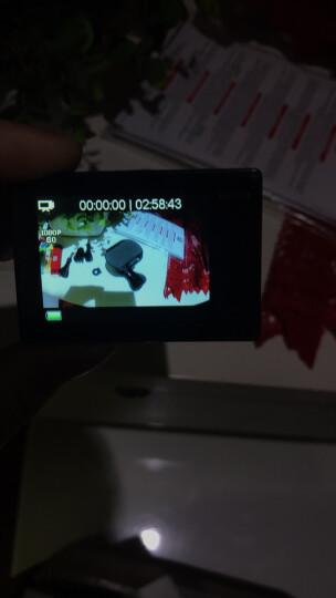 史历克运动相机4K潜水下高清摄像机8G内存版防水30米航拍行车记录仪2英寸大屏 黑色+32G卡高速存储卡+头戴套+包 晒单图