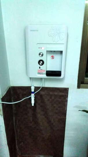 灏钻 H18 即热式管线机壁挂式 家用净水器加热器 速热直饮饮水机 白色 晒单图