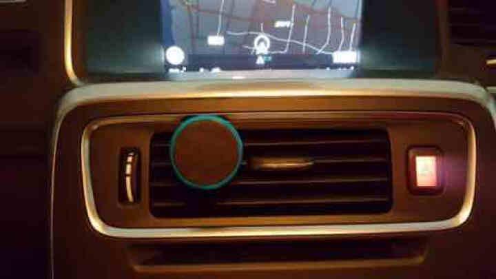 恺美 车载手机支架 磁性汽车空调出风口导航仪通用磁吸吸盘车架手机座 香槟金 起亚K2秀尔索拉图福瑞迪K3K4K5KX3狮 晒单图