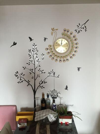 现代时尚欧式客厅钟表艺术