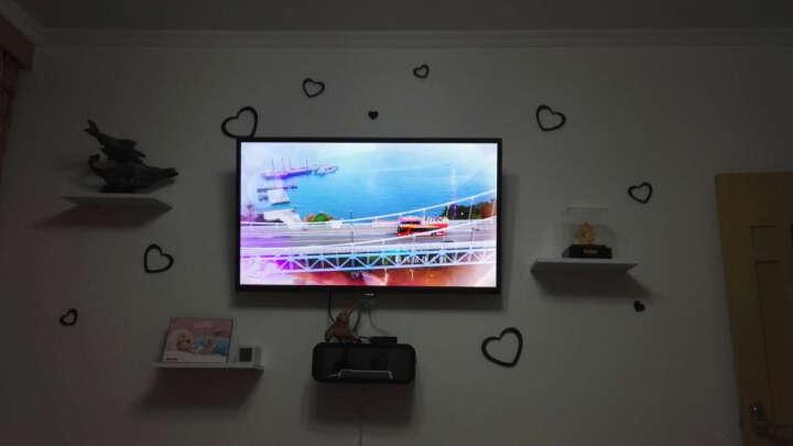 宜尚居 墙上置物架壁挂卧室机顶盒架电视背景墙装饰架创意格子客厅搁板 机顶盒套餐M 晒单图