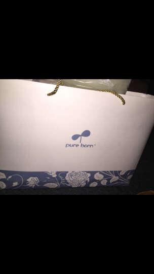 pureborn博睿恩婴儿衣服新生儿礼盒男女宝宝纯棉内衣套装四季满月礼品0-3个月用品 (礼盒红色)星星款 66cm 3-6个月 晒单图