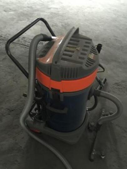 杰诺 1600W大功率干湿两用商用工业桶式吸尘器酒店地毯大吸力手持洗车吸水机JN-503 601-100L-2 晒单图