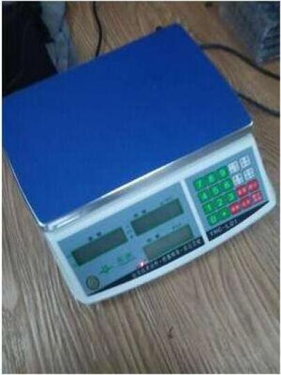 英衡精准电子秤计数称3kg6kg15kg30公斤称重秤台秤0.1计数秤点数秤计价秤称超市称 量程20Kg精度0.2g 晒单图