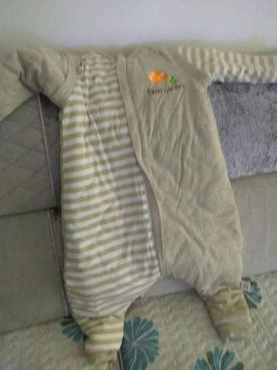 南极人(Nanjiren) 婴儿睡袋夏季春秋纯棉儿童冬季分腿防踢被宝宝纱布睡被 蓝色小狗夏季前4后2 95码/适合身高95-115cm 晒单图