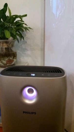 飞利浦(PHILIPS) 空气净化器家用除甲醛花粉卧室智能定时静音氧吧AC2888去烟雾 AC2888香槟色 晒单图
