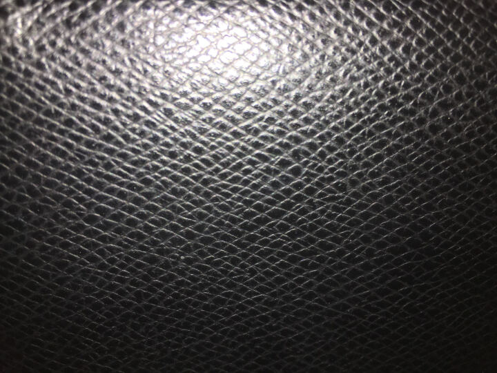 COACH 蔻驰 男款深蓝色皮革短款对折钱包钱夹 F74974 BHP (74974 BHP) 晒单图