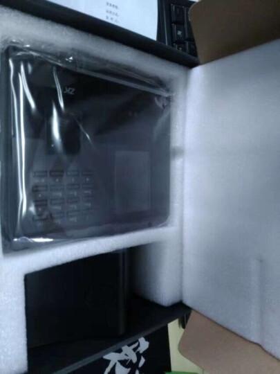 中控智慧(ZKTeco) UF200 指纹人脸面部识别考勤刷脸打卡机扫刷脸门禁一体机 铁灰+深灰色 晒单图