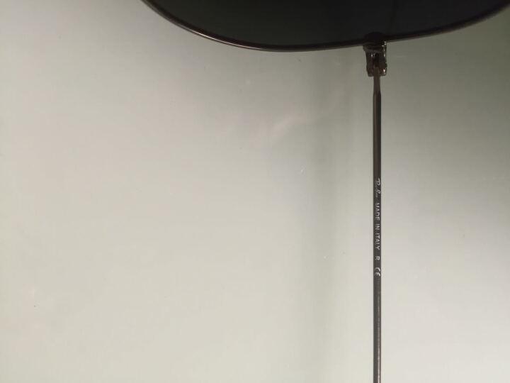 【京东正品】Ray-Ban 雷朋太阳眼镜时尚潮流飞行员系列吴亦凡宋仲基007同款 银渐变灰-3025-62mm 晒单图