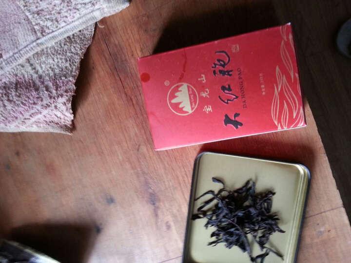 宝龙山武夷山岩茶乌龙茶大红袍茶叶160克 肉桂奇兰水仙可定制企业茶礼 160g/单条 晒单图