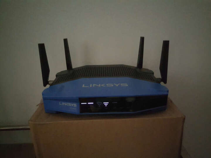 领势(LINKSYS)企业级商用双频千兆智能无线路由器多终端稳定运行WRT1900 中文升级版+4根高增益天线套装WRT004ANT 晒单图