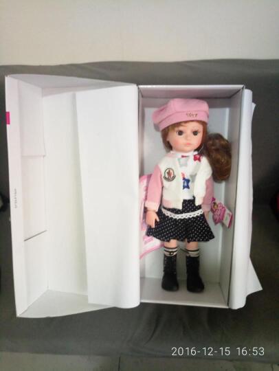 多丽丝 会说话的洋娃娃智能娃娃 可换发关节体仿真皮肤女孩礼物儿童玩具 换发款17号 晒单图