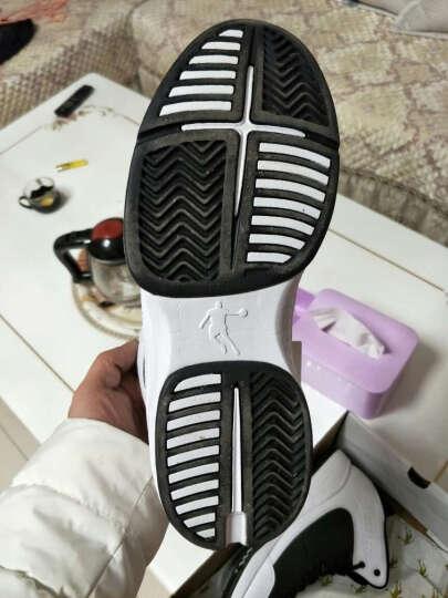 乔丹篮球鞋男鞋新款运动球鞋飞人高帮防滑耐磨战靴 黑色/乔丹红 42 晒单图
