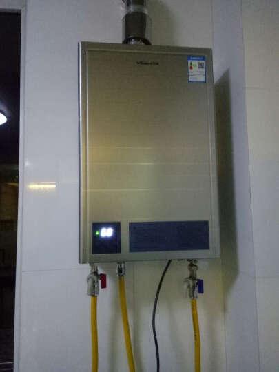 万和8l热水器使用图解