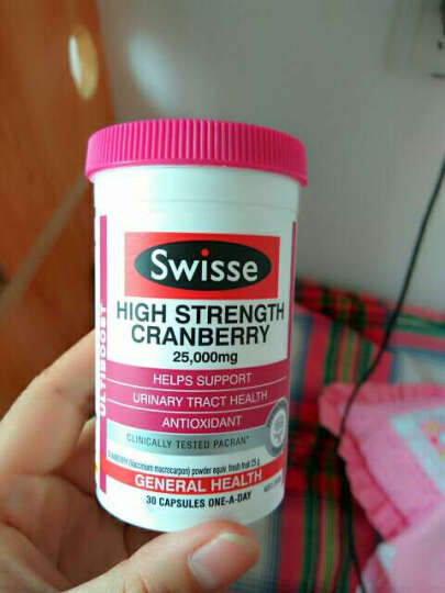 澳洲原装进口swisse 营养保健蔓越莓胶囊/护肝片/钙片 SwisseVD钙片150粒妇成人青少年中老年补钙 晒单图