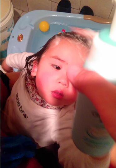 启初几米限量定制洗护套装 洗发沐浴补水保湿护肤4件套 婴儿洗发水沐浴露身体乳面霜 晒单图