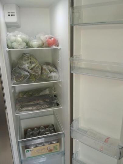美的(Midea)525升 对开门冰箱  变频无霜 中央智控 智能节能 双开门电冰箱 星际银 BCD-525WKPZM(E) 晒单图