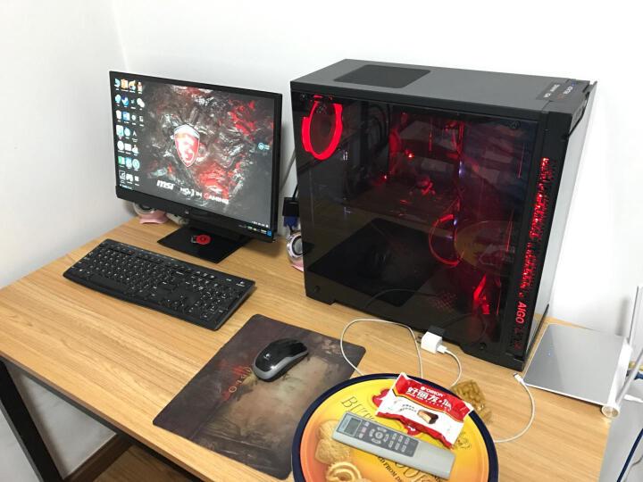 爱国者(aigo) 极光 12CM红光 电脑机箱风扇(小3P+大4P双接口/水冷排散热/减震脚垫/赠4螺丝) 晒单图
