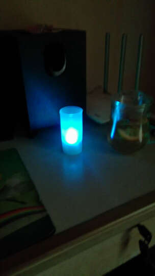 家英【情人节】七彩声控蜡烛灯/LED电子蜡烛灯 晒单图