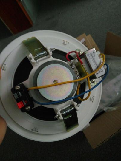 誉恩 LB-T2 室内天花音响 吸顶喇叭功放套装 吊顶音响 背景音乐公共广播系统 晒单图