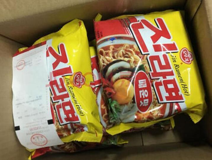 韩国拉面 进口方便面 不倒翁 泡菜拉面辣白菜煮面 120g 晒单图